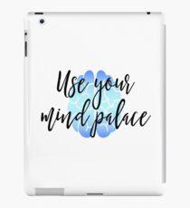 Sherlock - Use your mind palace iPad Case/Skin