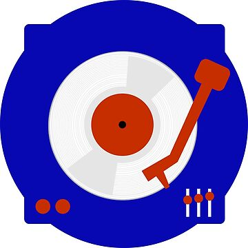 Mod target variation  turntable and vinyl by Auslandesign