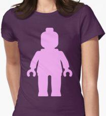 Minifig [Large Light Pink] T-Shirt