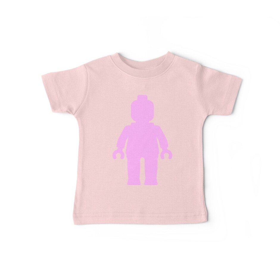 Minifig [Large Light Pink] by Customize My Minifig