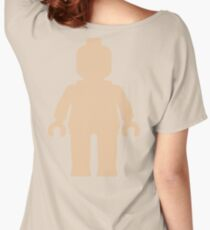 Minifig [Large Flesh Pink] Women's Relaxed Fit T-Shirt