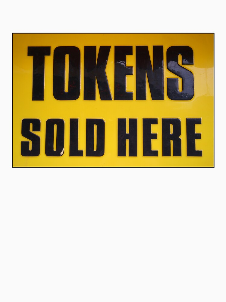 Tokens Sold Here by davepearson