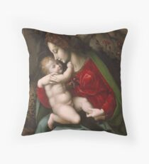 Bachiacca - Madonna And Child Throw Pillow