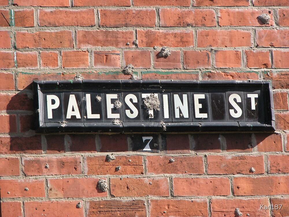 Palestine Street, Belfast by Karl187
