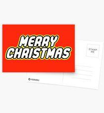 MERRY CHRISTMAS Postcards