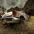 Abandoned 1957 Oldsmobile by mal-photography