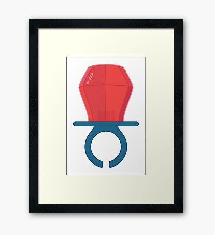 Lolly Ring  Framed Print
