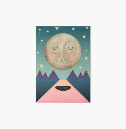 I Love You To The Moon and Back Art Board