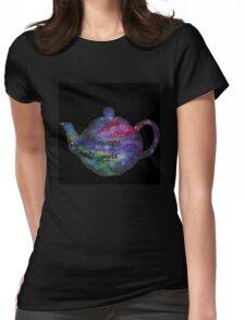 Galaxy Teapot Womens Fitted T-Shirt