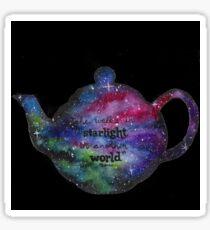 Galaxy Teapot Sticker