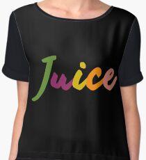 "Chance The Rapper's ""Juice"" Women's Chiffon Top"