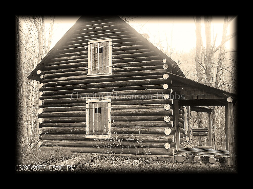 Old Cabin by Chasity Edmonson-Hobbs