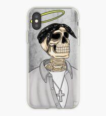 Tupac Skeleton iPhone Case