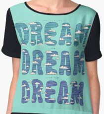 Dream, Dream, Dream Chiffon Top