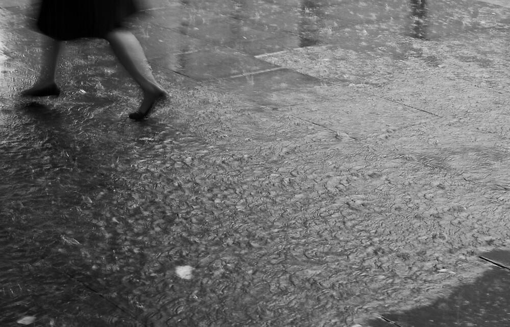 rain, Manchester, United Kingdom by Piotr Jaskiewicz