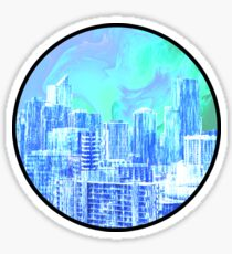 Melbourne City-Scape Sticker