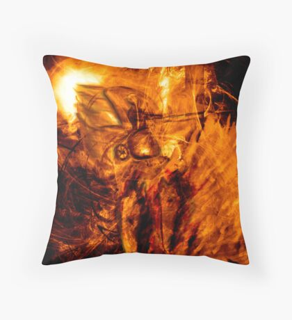 The Chariot of Fire Throw Pillow