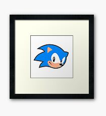 Sonic Mania (Sonic the Hedgehog)  Framed Print