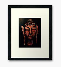 Bronze Buddha Framed Print