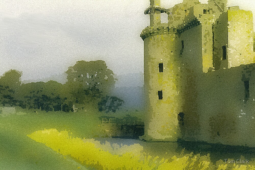 Caerlaverock Castle by Tom Clark