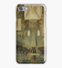 Bartholomeus Van Bassen - The Ridderzaal Of The Binnenhof During The Great Assembly Of 1651, 1651 iPhone Case/Skin
