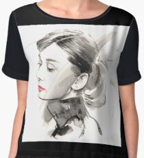 Audrey Hepburn Chiffon Top