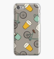 Bikes, Books, Beer, and Coffee iPhone Case/Skin