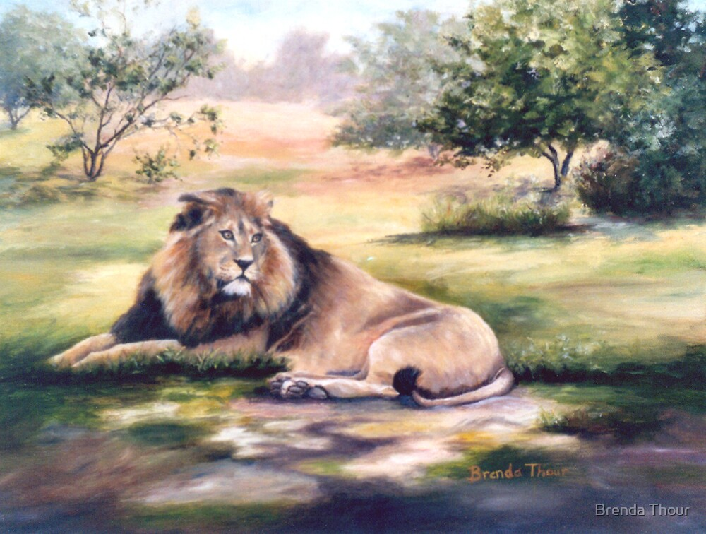 The King by Brenda Thour