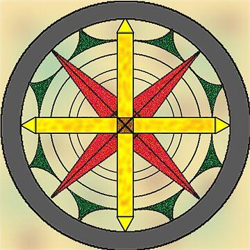 Compass Rose by zfollweiler