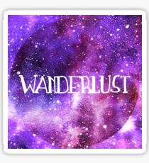 Wanderlust Galaxy Sticker
