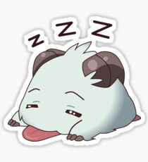 Poro Sleeping Sticker