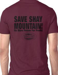 Save Shay Mountain Protest Shirt Back Unisex T-Shirt