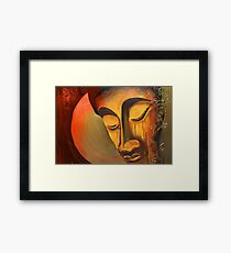 Resting Buddha Framed Print