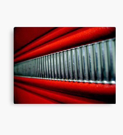 Red Interior Canvas Print
