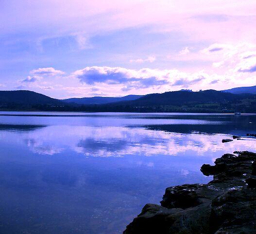 Reflection ~ Howden, Tasmania by Jasmine Costello