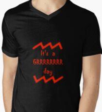 grrrr Men's V-Neck T-Shirt
