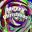 Psychedelic Merry Christmas by Jessica Millman