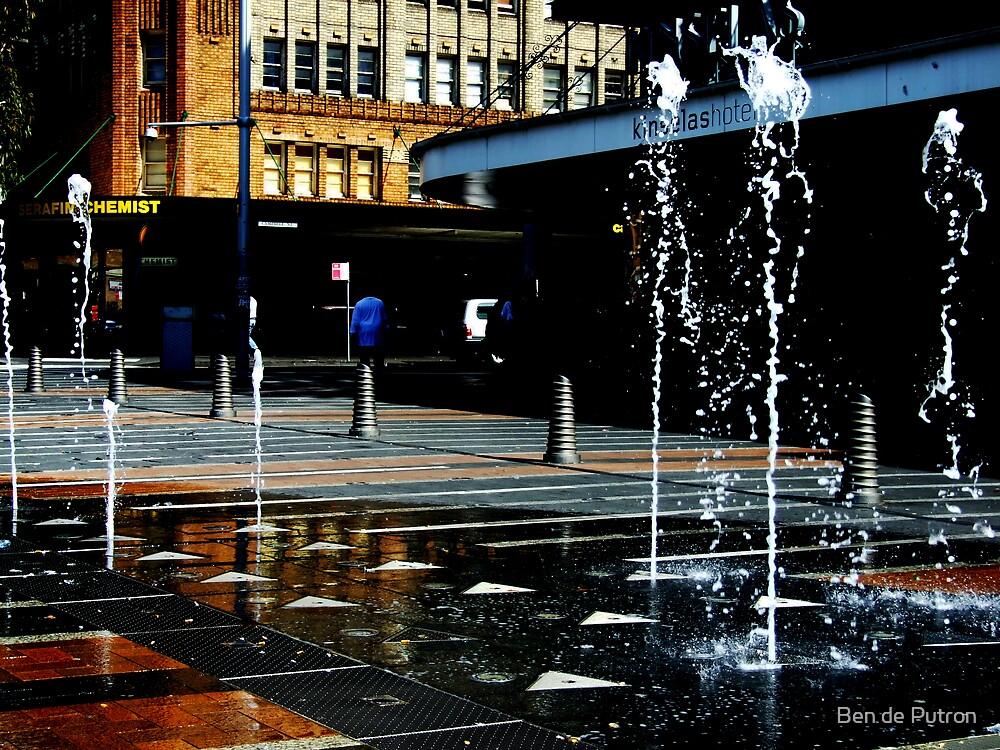 Taylor Square Fountains by Ben de Putron
