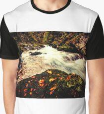 Landcape Autumn Graphic T-Shirt