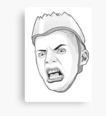 Butt Head. Canvas Print