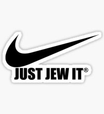 Just Jew It - BBYO Sticker Sticker