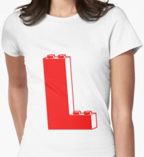 THE LETTER L, by Customize My Minifig T-Shirt