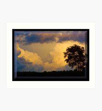 Stormy September Art Print