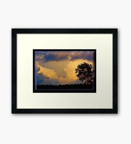 Stormy September Framed Print