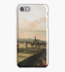 Bernardo Bellotto - Vienna Viewed From The Belvedere Palace1759 iPhone Case/Skin
