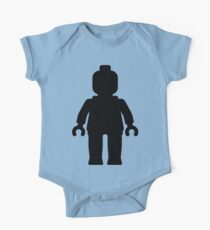 Minifig [Large Black] Kids Clothes