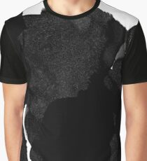 Black Ink Graphic T-Shirt