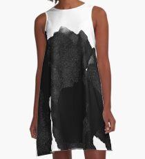 Black Ink A-Line Dress
