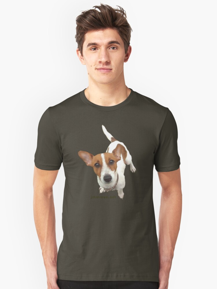 Roxy Jack Russell Rescue Tee Shirt by JRTrescue