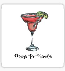 Margs for Miracles Sticker